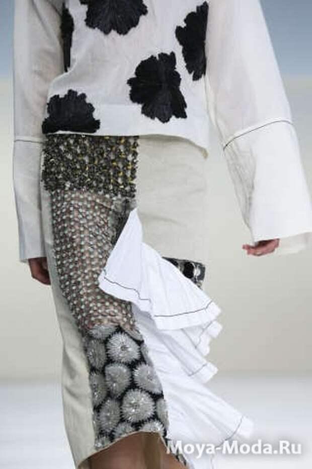 Модные юбки весна-лето 2015 Marni