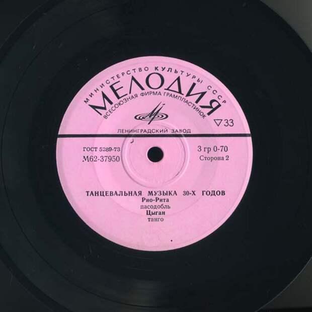 Немного о музыке 30-х годов