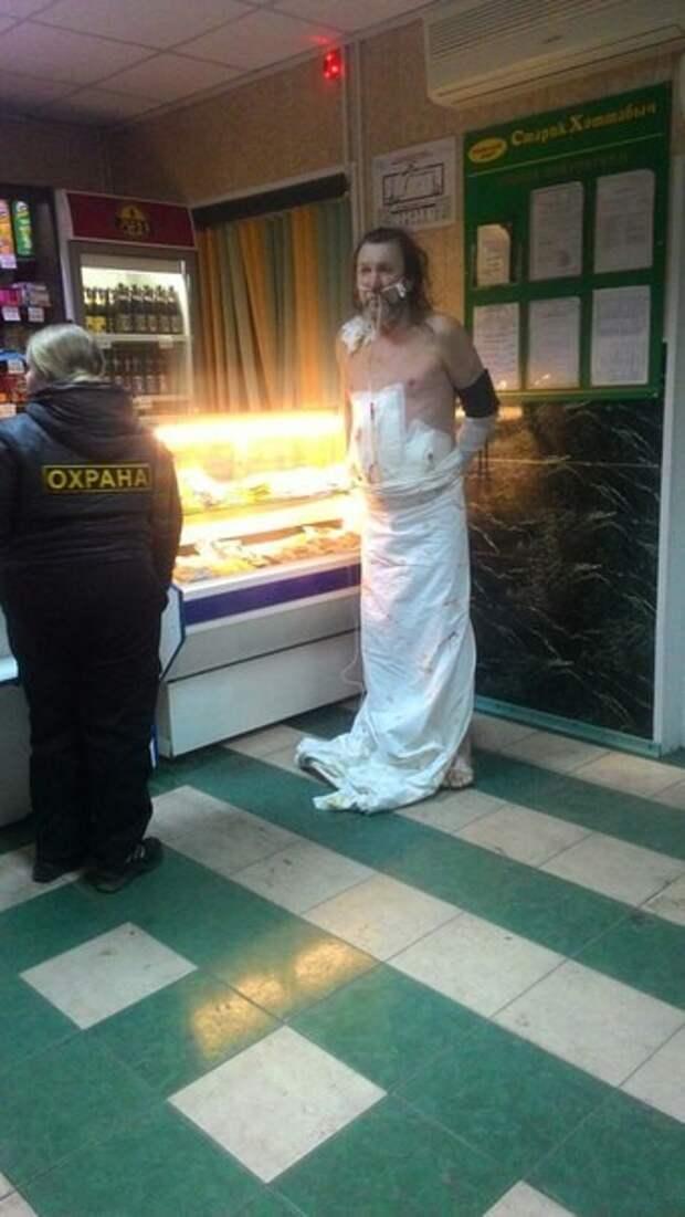 Житель Хакасии сбежал из реанимации, чтобы купить пива