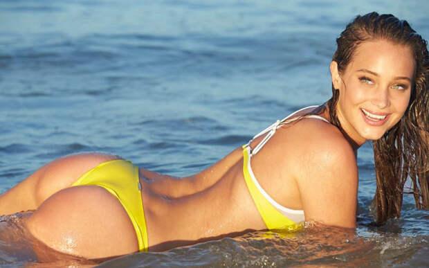 Ханна Девис: красивая форма и отличное содержание