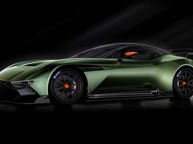Aston Martin предложит новый суперкар Vulcan за 2,5 млн евро