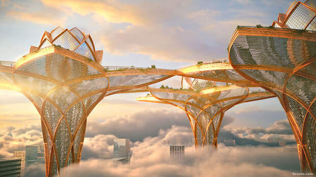 Город в небесах.