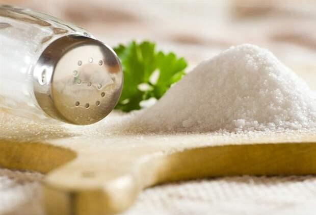 Как вывести соль из организма человека