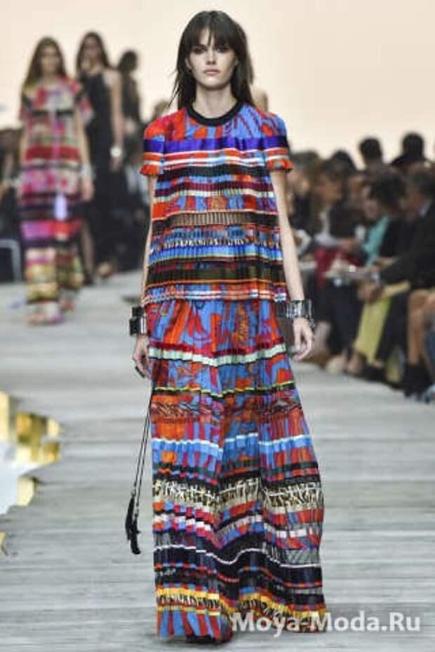Модные юбки весна-лето 2015 Roberto Cavalli
