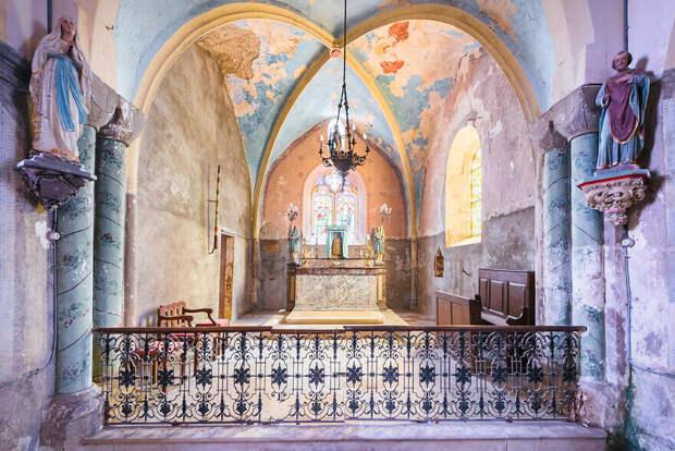 Часовня замка XII – XVI веков, Франция, Гранд-Ист