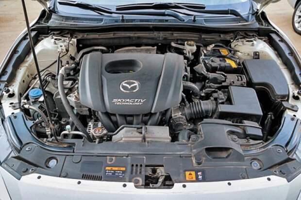 Главное достоинство двигателей серии SkyActiv – потрясающая топливная экономичность
