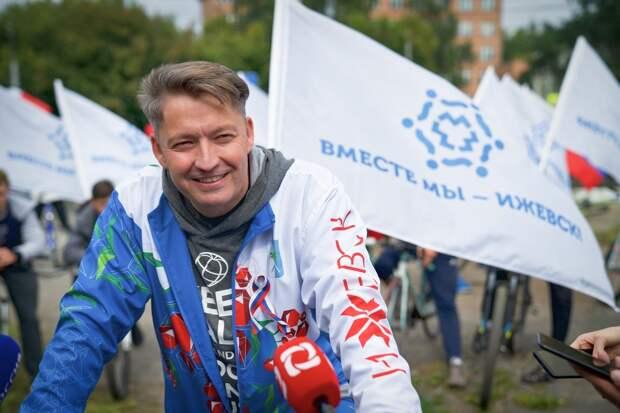Мэр Ижевска Олег Бекмеметьев: в городе должен появиться каркас велодорожек