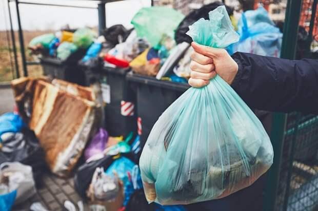 Во дворе дома на Санникова привели в порядок площадку для мусора