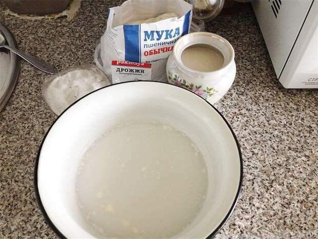 ингредиенты для приготовления пампушек