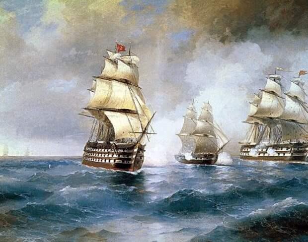 Бой брига Меркурий 14 (26) мая 1829 г.
