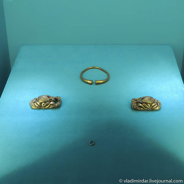 Витрина. Золото сарматов.