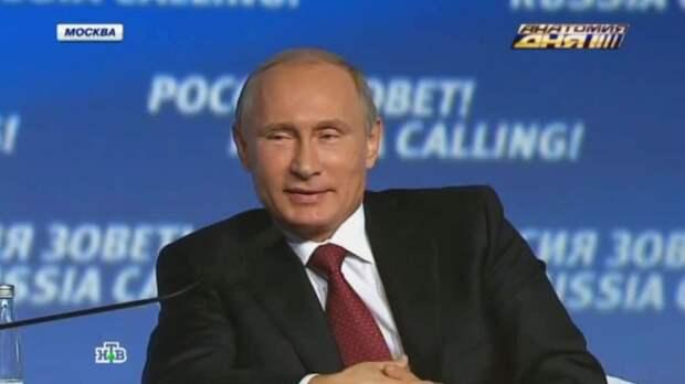 «Куда ушестерять-то?»: лучшие цитаты Путина на форуме «Россия зовет!»