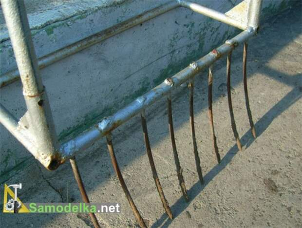 зубья лопаты из высокоуглеродистой стали