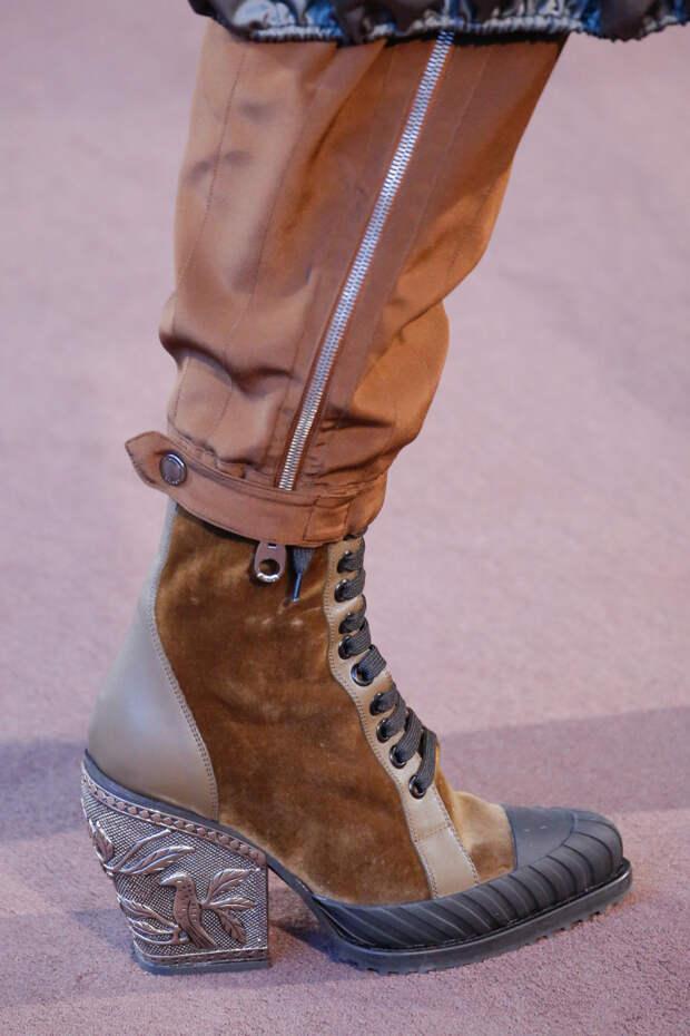 Модная обувь осень-зима 2018-2019. Ботинки из коллекции Chloé