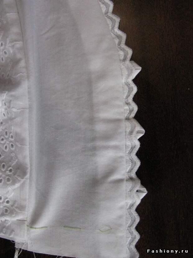 Шьем летнюю блузку для беременных