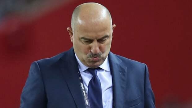 Черчесов — о поражении в Словакии: «От сборной России немного отвернулась удача»