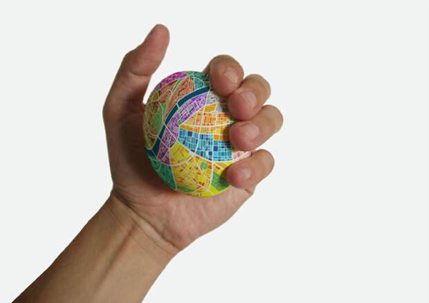Удобная навигация с картой-яйцом