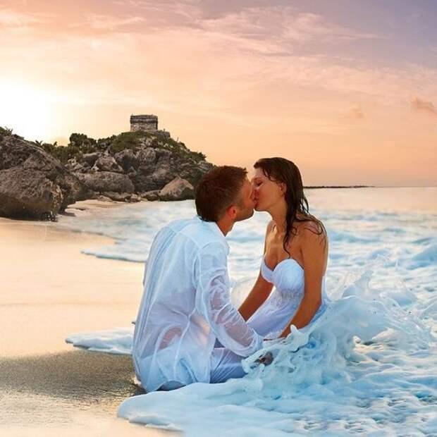 Идеи оформления свадебных фото (трафик)