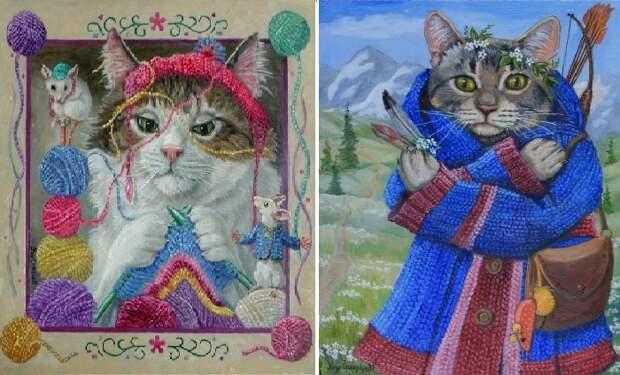 Кошка-бабушка. / Путешественник. Автор: Джой Кэмпбелл.