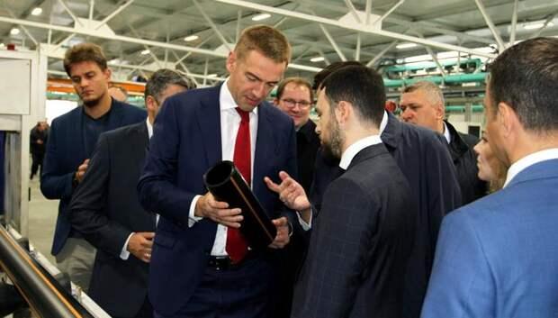 Предприятие Подольска запустило в производство новую систему маркировки трубной