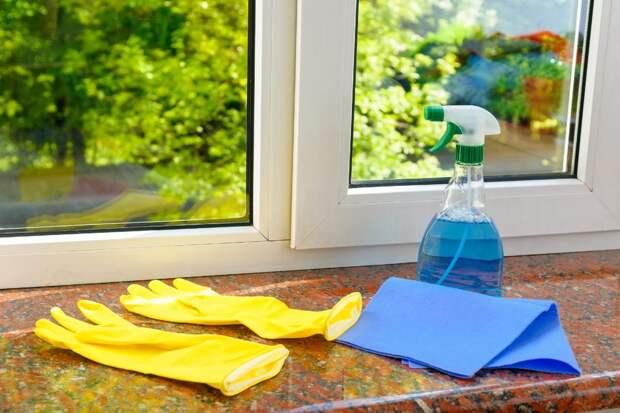 Наблюдение за немецким соседом, который удивительно быстро моет окна
