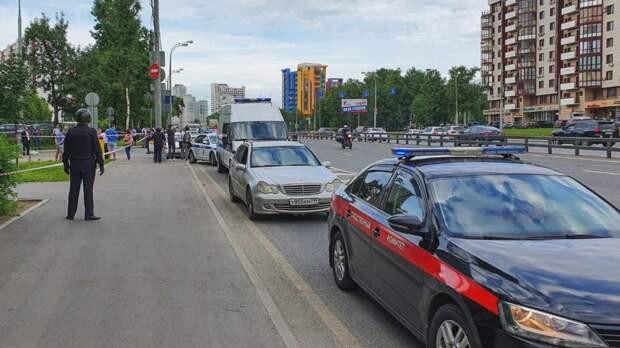 В Москве прохожий открыл огонь по полицейским
