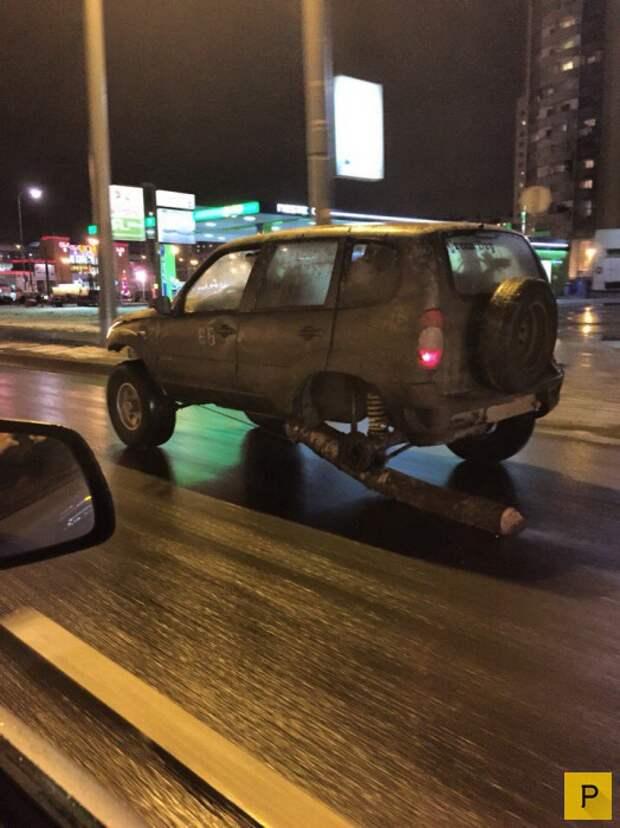 Новая подборка автомобильных приколов