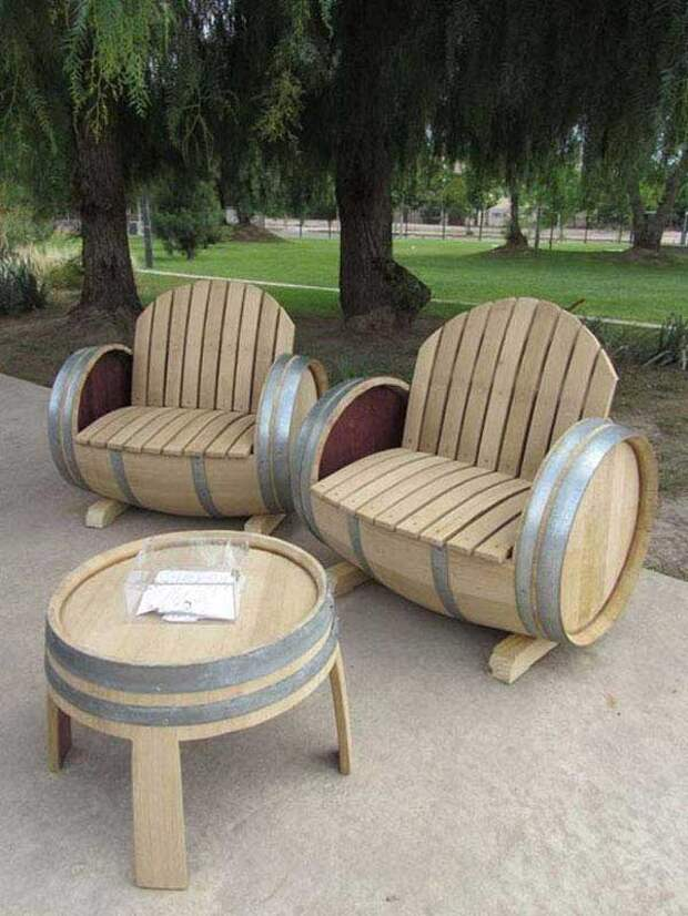 Удачные идеи дачной мебели: максимум пользы при минимуме затрат