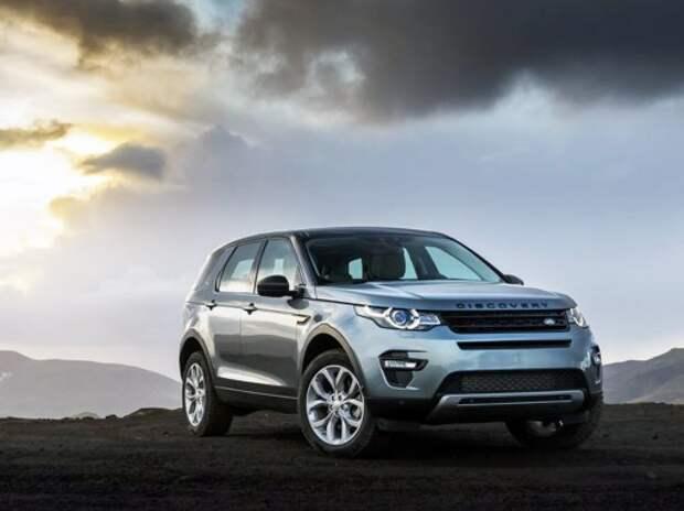 Стартовали продажи кроссовер Land Rover Discovery Sport