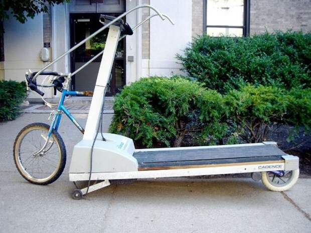 Велосипед - беговая дорожка.