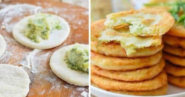 Пирожки с картошкой на кефире. Особенный рецепт!