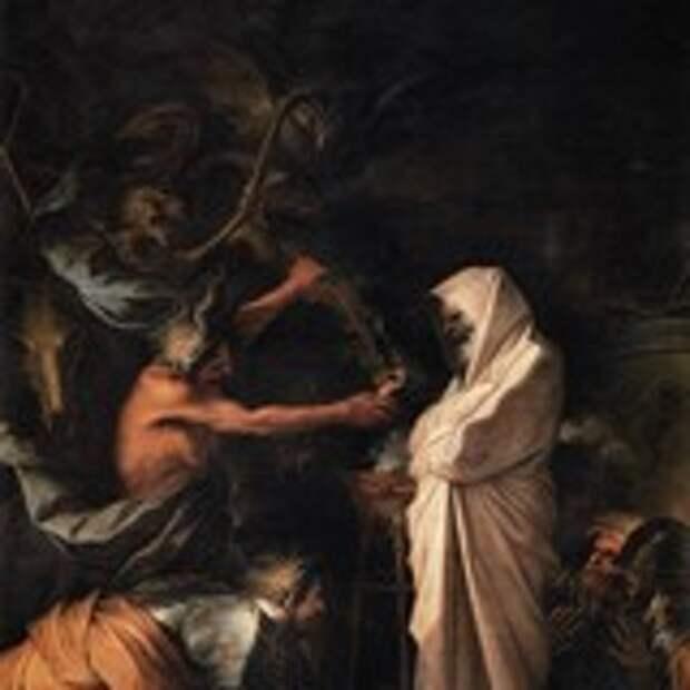 Дух Самуила, призванный к Саулу волшебницей из Аэндора
