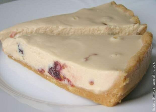вишневый чизкейк без выпечки