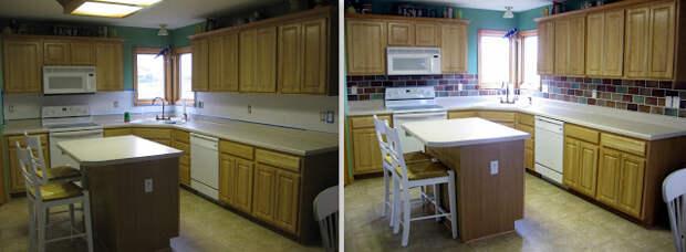 Создаем оригинальный настенный фартук на кухне. Мастер-класс