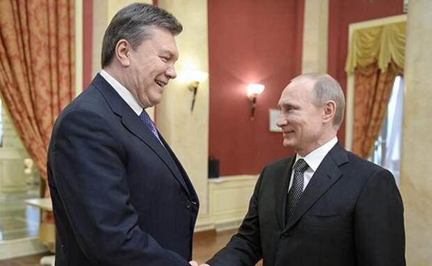Янукович назвал трагедией присоединение Крыма к России