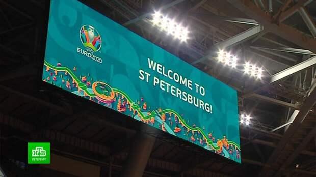 Сразу три матча Евро-2020 переводят из Дублина в Петербург