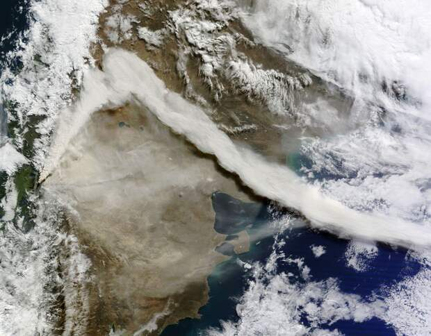 Чилийский вулкан Пуеуэ