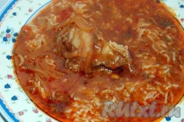 """Рецепт супа """"Харчо"""" из говядины"""