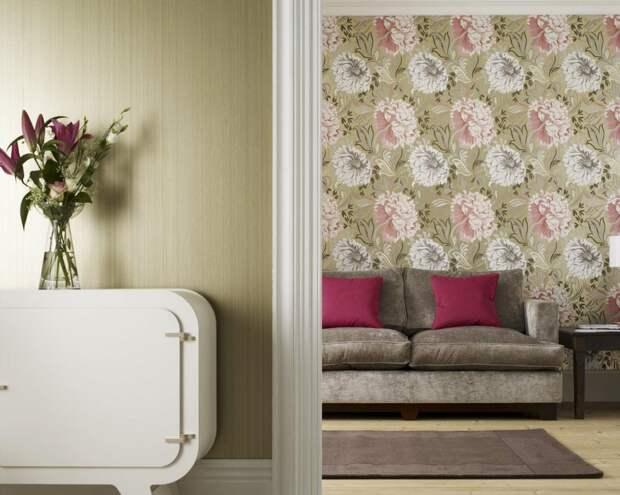 Обои для стен Prestigious Textiles Reflections в интернет-магазине OboiNaDom