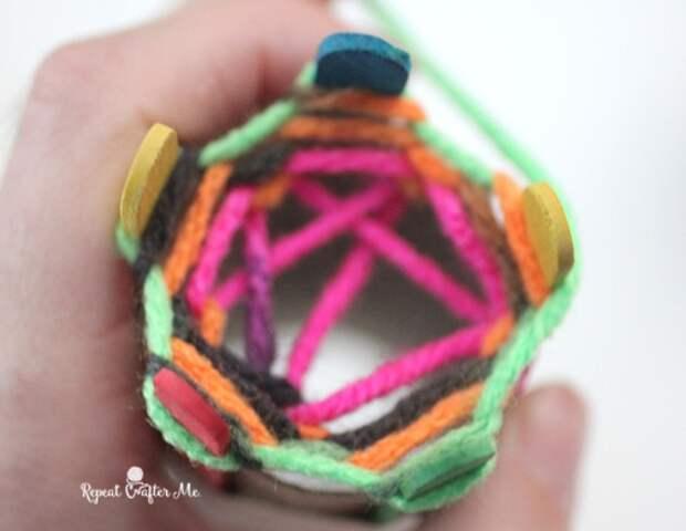 Устройство для кругового вязания (Diy)