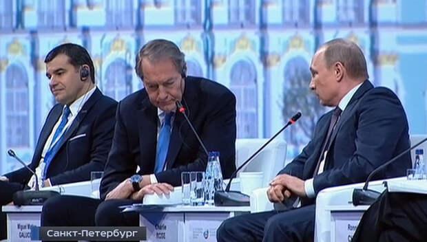 Путин обучил демократии телеведущего CBS