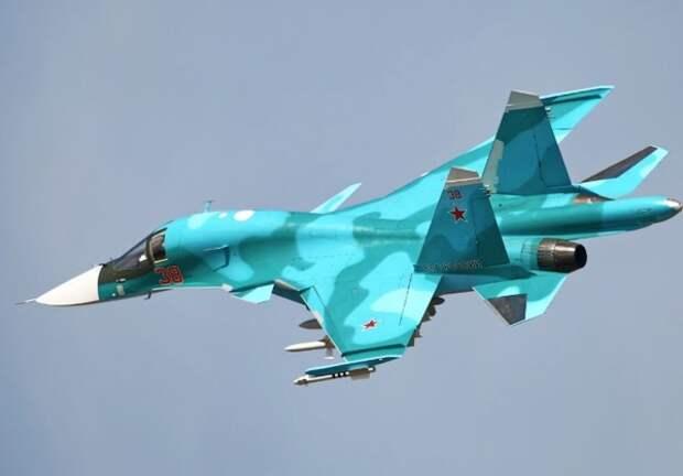 Натовские летчики опубликовали фото Су-34 «под прицелом» над Балтикой