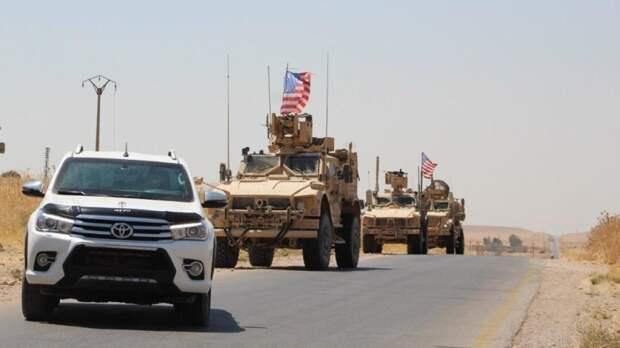 США приступили к патрулированию нефтяных месторождений Сирии, на контролируемой курдами территории
