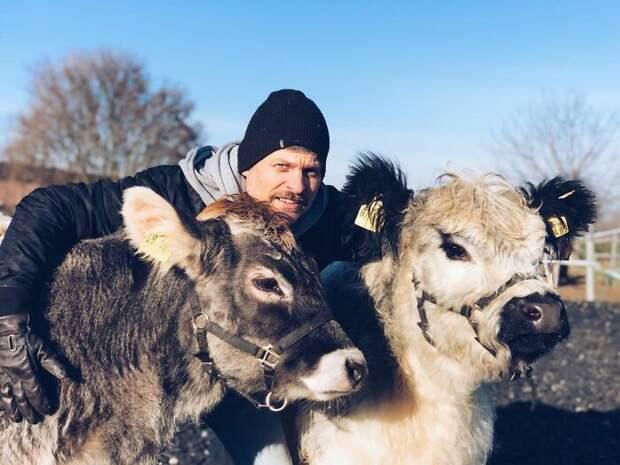 Фермер решил доказать, что животные — не только еда