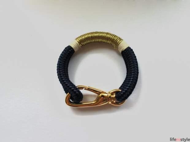 Лаконичный браслет унисекс (Diy)