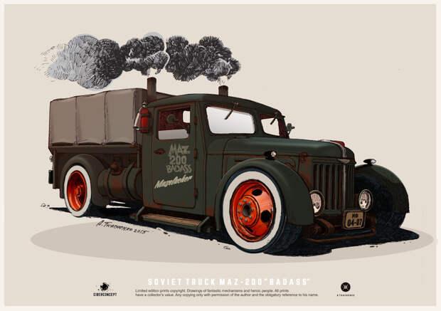 Крутые концепты советских автомобилей