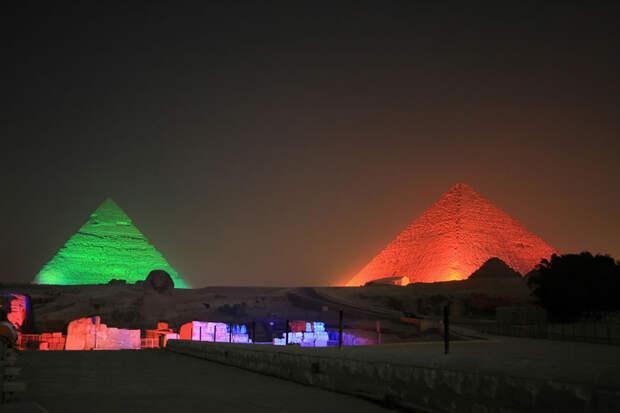 Пирамиды и некрополь Гизы