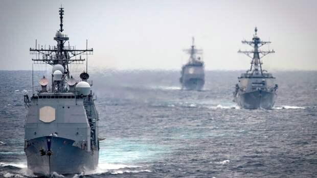 Американские СМИ объяснили, почему США отменили заход эсминцев в Черное море