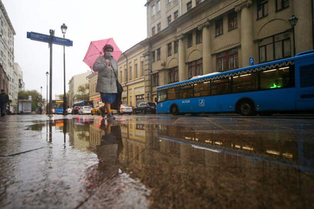 Более 37% месячной нормы осадков выпало в Москве