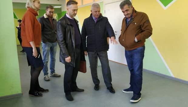 В Подольске подрядная организация устранила недостатки в ремонте школы №15